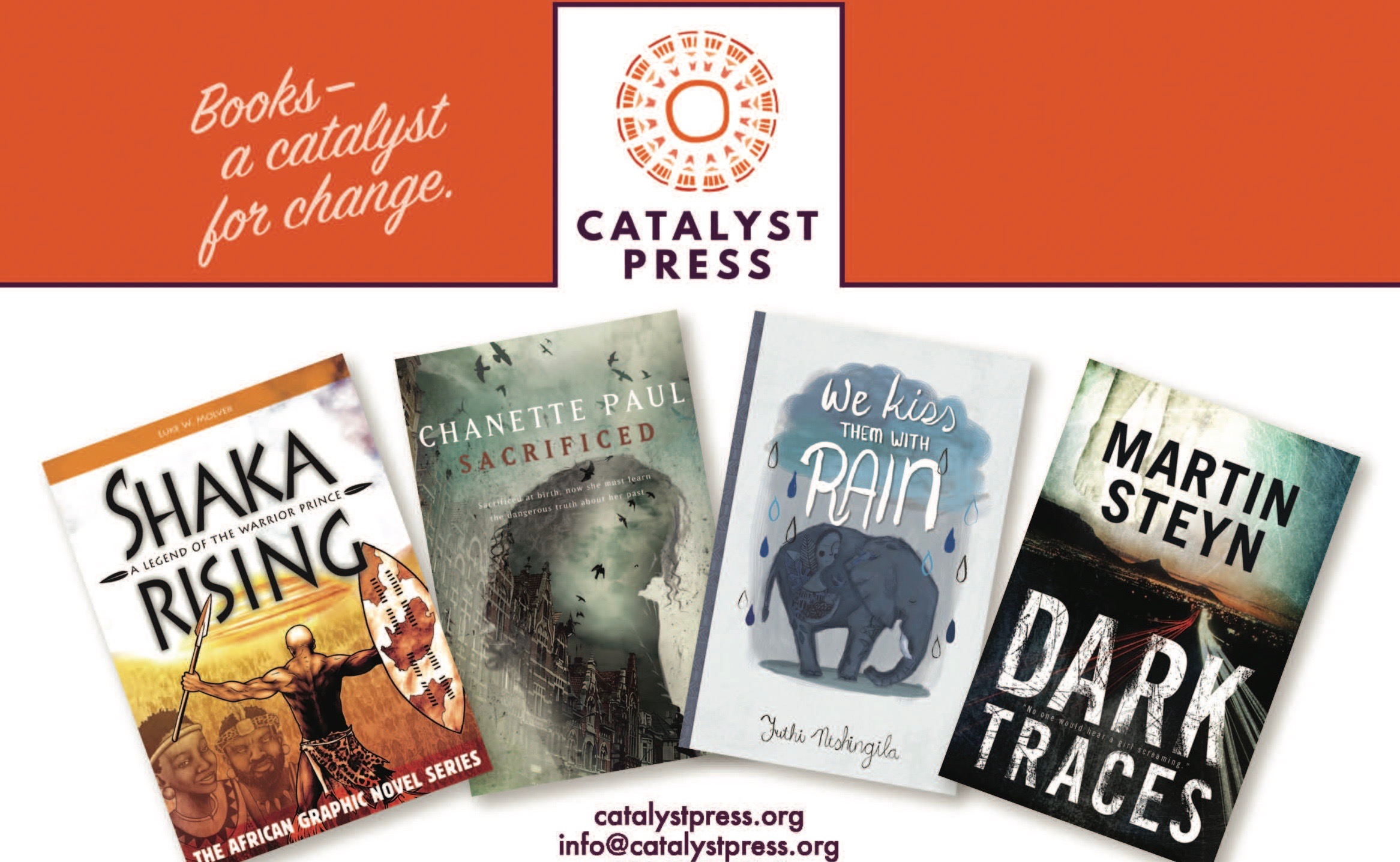 Catalyst Press Featured in Publishers Weekly